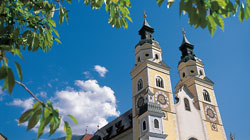 The cathedral of Brixen