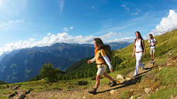 Holiday on a farm for walkers in South Tyrol