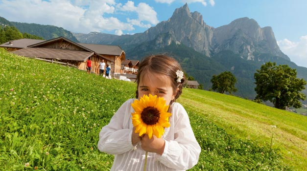 Farm holiday in South Tyrol
