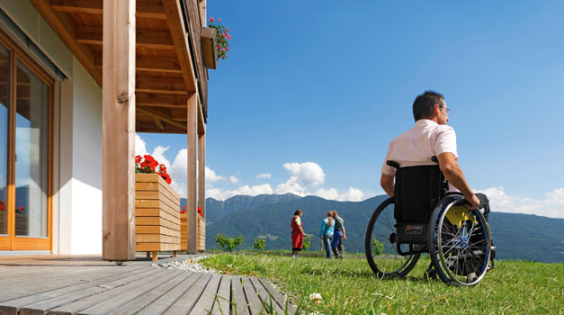 Holidays on farms with facilities for the disabled
