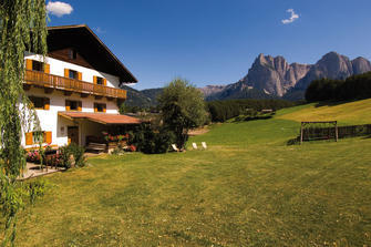 Reiterhof Oberlanzin - Seis  - Kastelruth - Farm Holidays in South Tyrol  - Dolomiten