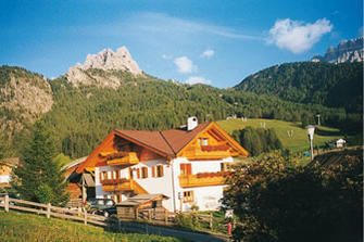 Col  - Wolkenstein - Farm Holidays in South Tyrol  - Dolomiten