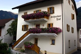 Schnalserhof  - Latsch - Farm Holidays in South Tyrol  - Vinschgau