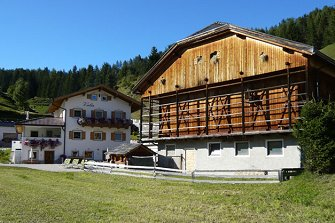Valin  - Wolkenstein - Farm Holidays in South Tyrol  - Dolomiten
