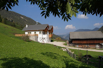 Coristeles  - St. Martin in Thurn - Farm Holidays in South Tyrol  - Dolomiten