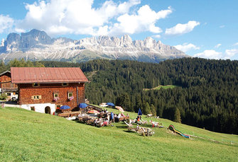 Hagneralm  - Welschnofen - Farm Holidays in South Tyrol  - Dolomiten