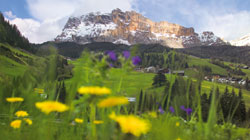 Fabulous views on the Dolomites