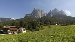Farm in the Dolomites