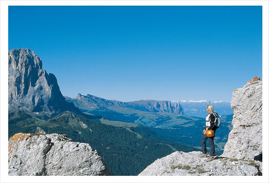 41|A hiker's greeting from the mountains of South Tyrol