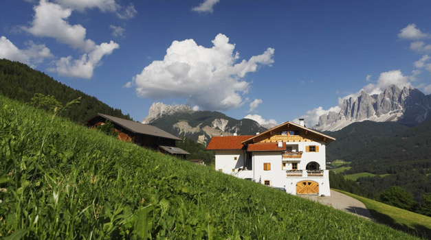 Farm holiday in the Dolomites