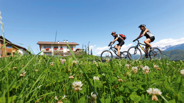Cycling holidays in South Tyrol