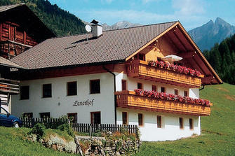 Lanerhof  - Sand in Taufers - Farm Holidays in South Tyrol  - Dolomiten