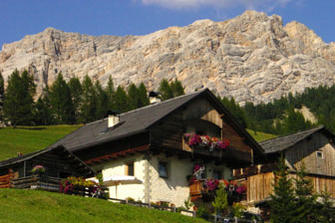 Ciasa Rü - St. Kassian  - Abtei - Farm Holidays in South Tyrol  - Dolomites