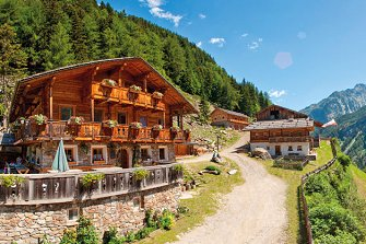 Kofler zwischen den Wänden  - Sand in Taufers - Farm Holidays in South Tyrol  - Dolomites