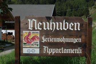 Neuhuben  - Gsieser Tal - Farm Holidays in South Tyrol  - Dolomites