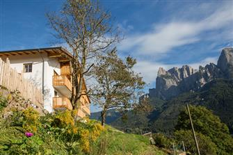 Aussergost Hof - Seis  - Kastelruth - Farm Holidays in South Tyrol  - Dolomites