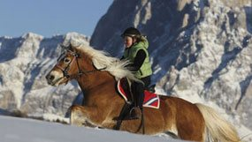 A winter riding holiday