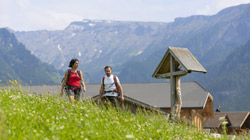 Holidays on Walker-Friendly Farms in South Tyrol