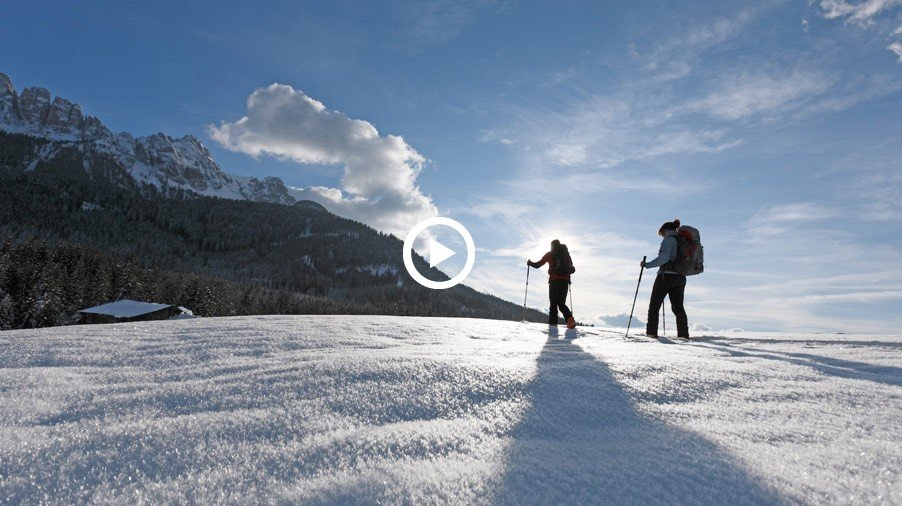 Video: Winter farm holiday in South Tyrol